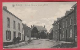 Gedinne - Entrée De Gedinne Par La Route De Dinant - 1914 ( Voir Verso ) - Gedinne