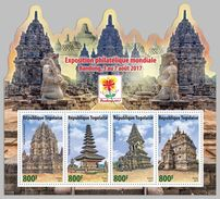 TOGO 2017 - Buddhist And Hindu Temples. Official Issue. - Buddhism