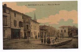 MONTECH (82) - PLACE DU MARCHE - Montech