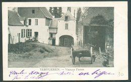 C.P. TERVUEREN Vieille Ferme Affr; N°56 Oblit. TERVUEREN 5 Aoùt 1902 Vers Bruxelles.  TB   - 12059 - Tervuren