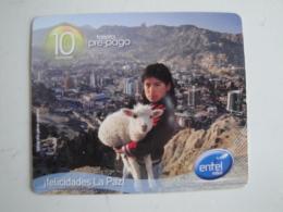 1 Remote Phonecard From Bolivia - La Paz - Bolivia
