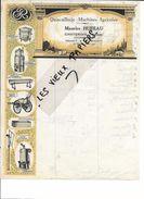 88 - Vosges - CHATENOIS - Facture HUREAU - Quincaillerie - Machines Agricoles - 0000 - REF 69A - 1900 – 1949