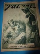 1918 J'AI VU: Voyance,la Sorcière Des Batignoles;Diables Bleus; Héros De L'Ailly;Aviation;British Soldiers; Les CHIENS - French