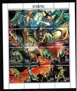 Centrafricaine 1993 Sc # 1019  MNH **  Dinosaurs - Prehistorics