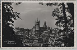 Lausanne - La Cathedrale (Longines) - Photo: Perrochet No. 6878 - VD Vaud