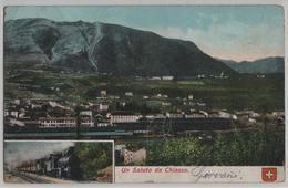 Un Saluto Da Chiasso - Eisenbahn Cheimin Du Fer - Photo: Carl Künzli No. 1329 - TI Tessin