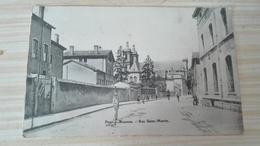 PONT A MOUSSON - RUE SAINT MARTIN - Pont A Mousson
