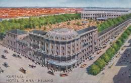 CPA Italie Milan Milano Hôtel Diana Kursaal - Milano (Milan)