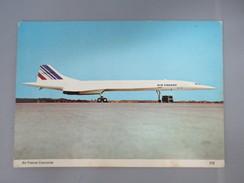 CPA PHOTO AIR FRANCE CONCORDE - Avions