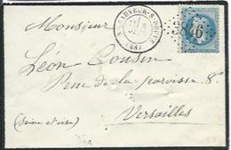 TP N° 29B Sur Enveloppe Sans Texte De St Sauveur Sur Douve 48, Oblitération  GC 3846 Et Cad T 17 Du 8/1/69 - 1849-1876: Classic Period