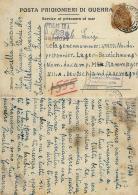 CARTOLINA POW CAMP STALAG XII-A LIMBURG GERMANIA 1944 VALLELUNGA PRATAMENO - Correo Militar (PM)
