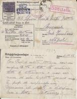 CARTOLINA POW CAMP STALAG XII-A LIMBURG GERMANIA 1944 MESSERCOLA - Correo Militar (PM)