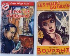 Li-Pou-Yen Antiquaire & Les Filles Du Désir - Fascicules - OPIUM - RARE. - Livres, BD, Revues