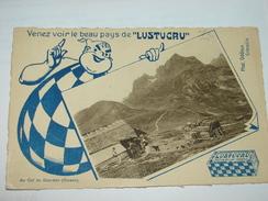 C.P.A.- Publicité Lustucru - Au Col Du Glandon (Oisans) (38) - 1910 - SPL (F81) - Publicidad
