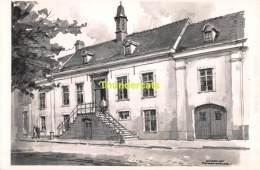 ILLUSTRATEUR HERMAN VERBAERE  WATERVLIET   ( KAART 18 Cm X 11,5 Cm , Blanco Ommezijde ) - Sint-Laureins