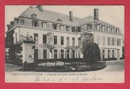 Court-Saint-Etienne - Château Du Comte Goblet D'Alviella - 1906 ( Voir Verso ) - Court-Saint-Etienne
