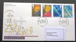 GB Scientific Achievements South Kensington London SW7 Postmark SG1546 To SG1549 - FDC