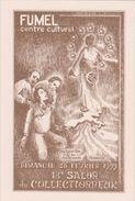 Fumel 18eme Salon Du Collectionneur 28 Fevrier 1999 Tirage 500 Ex Dessin Philippe Daouse - Fumel