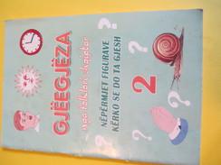 Fascicule D'apprentissage De La Lecture/GJËEGJËZA/Nga Folklori Shqiptar/  Albanie / Tirana/  2009     CAH155 - Boeken, Tijdschriften, Stripverhalen