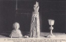29----SAINT-JEAN-DU-DOIGT--trésor De L'église Calise En Argent XVIe Siècle--voir 2 Scans - Saint-Jean-du-Doigt