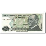 Turquie, 10 Lira, 1970, KM:193b, 1982, NEUF - Turquie
