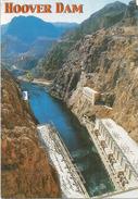 Hoover Dam & Colorado River, Postcard Addressed To ANDORRA,with Arrival Postmark - Etats-Unis