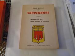 ANNE BIZEAU SOUVENANCE (poèmes) Préf. P. GUTH, Dessins Orig TOUCHAGUES Auvergne - Auvergne