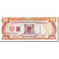 Dominican Republic, 100 Pesos Oro, 1977-1980, 1977, SPECIMEN, KM:122s1, NEUF - Dominicaine