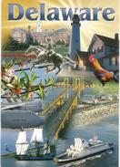 Greetings From Delaware, Carte Postale Adressée ANDORRA, Avec Timbre à Date Arrivée - Autres