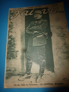 1917 J'AI VU: Général MANGIN; Roman RAVENGAR;Escadrille LA FAYETTE;Mobilisation Civile;Soldats Portugais En France; Etc - French