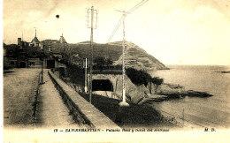 AG 145  / C P A - ESPAGNE -  SAN SEBASTIAN - PALACIO REAL Y TUNEL DEL ANTIGUO - Guipúzcoa (San Sebastián)