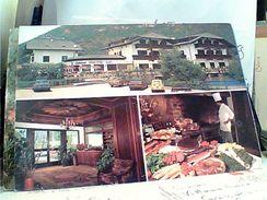BOLZANO HOTEL RISTORANTE PIRCHER AUTO CAR ALFA ROMEO GIULIETTA FIAT 500 N1985 GF15534 - Bolzano (Bozen)