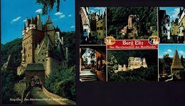 AK - Burg Eltz - Moselkern - 2 Karten - Châteaux