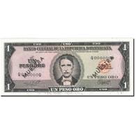 Dominican Republic, 1 Peso Oro, 1975, 1975-1978, SPECIMEN, KM:108s, SUP - Dominicaine