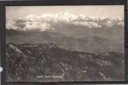 Senchal View From Darjeeling At Tibet (thin At Back) (t135) - Tibet