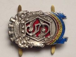 Insignia Gorra Oficiales. Guardia De Asalto. República. Guerra Civil Española. 1936-1939. Réplica - Espagne