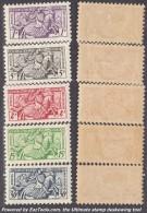 Série Sceau Du Prince 1955 Neufs *  TB (Y&T N° 415 à 419, Cote: 42.5€) - Monaco