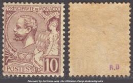 10c Albert Ier Neuf ** Sans Charnière TB (Y&T N° 14 Cote +200€) - Unused Stamps