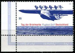 BRD - Michel 2428 ECKE LIU - ** Postfrisch (B) - 55C  Tag Der Briefmarke Flugboot DoX - BRD