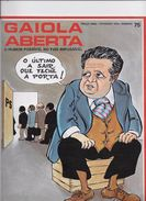 Gaiola Aberta Nº 75 De 1979 Do Cartonista José Vilhena. - Books, Magazines, Comics