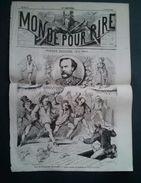 Le Monde Pour Rire, Pierre Zaccone Par A.Lemot,Les Mansardes De Paris, Le Grand Succès Du Moment Au Petit Journal - Journaux - Quotidiens
