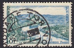 FRANCE Francia Frankreich - 1954 - Yvert 977 Obliterato Con Timbro Italiano (Torino) - France