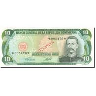Dominican Republic, 10 Pesos Oro, 1977-1980, 1978, SPECIMEN, KM:119s1, NEUF - Dominicaine