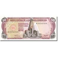 Dominican Republic, 50 Pesos Oro, 1977-1980, 1978, SPECIMEN, KM:121s1, NEUF - Dominicaine