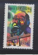 2002 - TIMBRE NEUF - Personnages Célèbres - Grands Interprètes De Jazz - LOUIS ARMSTRONG - N° YT : 3500 - France