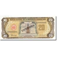 Dominican Republic, 20 Pesos Oro, 1977-1980, 1980, SPECIMEN, KM:120s1, NEUF - Dominicaine