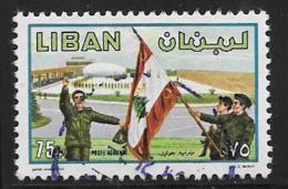 Lebanon, Scott # C793 Used Army Day, 1980 - Lebanon