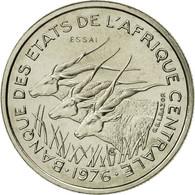 États De L'Afrique Centrale, 50 Francs, 1976, Paris, FDC, Nickel, KM:E8 - Cameroun