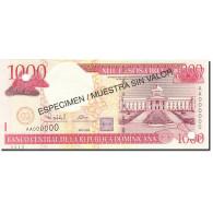 Dominican Republic, 1000 Pesos Oro, 2001-2002, SPECIMEN, KM:163s, 2000, NEUF - Dominicaine