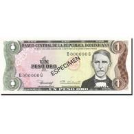 Dominican Republic, 1 Peso Oro, 1980-1982, 1980, SPECIMEN, KM:117s1, NEUF - Dominicaine